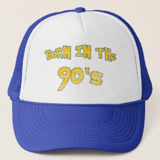 Born In The 90s - worn look Trucker Hat