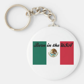 Born in the USA Keychains