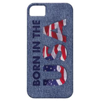 Born in the USA Patriotic Jeans Design iPhone 5 Case