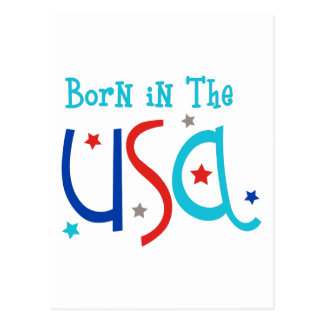 Born In The USA Postcard