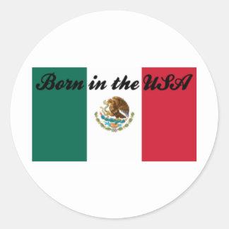 Born in the USA Round Sticker