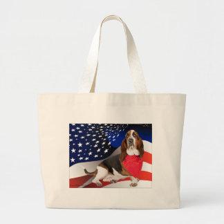 Born in the USA Jumbo Tote Bag