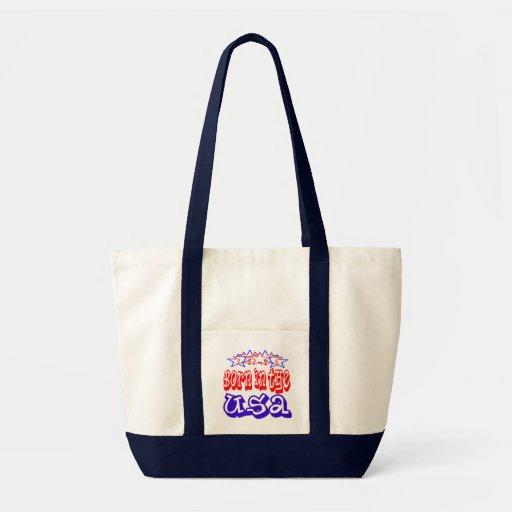 Born in the USA Tote Bag