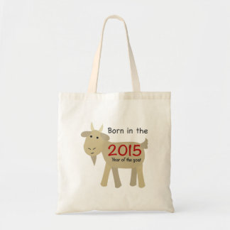 Born in the Year of the Goat 2015 Budget Tote Bag