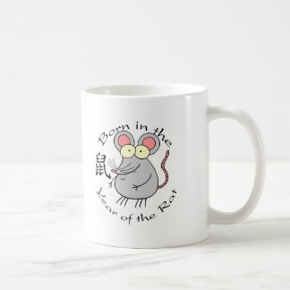 Born in the Year of the Rat Chinese Mugs