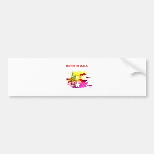 born in usa bumper stickers