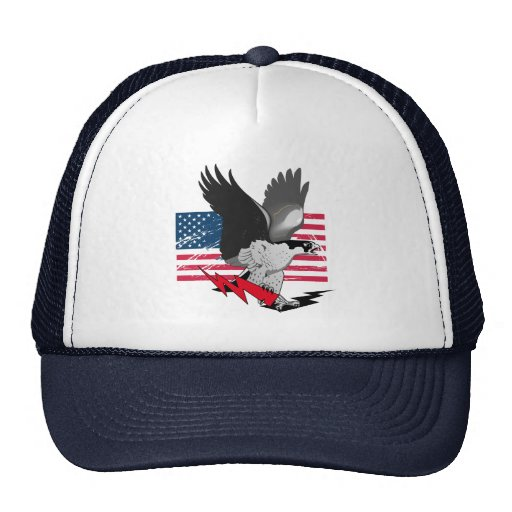 Born In USA Mesh Hat