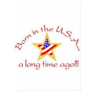Born in USA Postcard