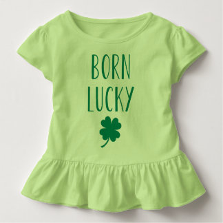 Born Lucky | Cute St. Patrick's Day Toddler T-Shirt