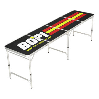 """Born On Parris Island"" Regulation Beer Pong Table"