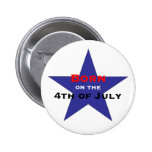Born on the 4th of July Button