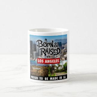 Born & Raised in Los Angles Coffee Mug