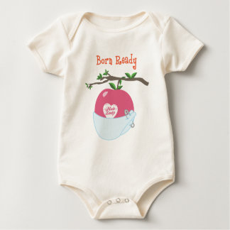 Born Ready Baby Bodysuit