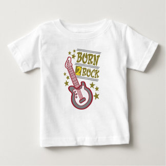 Born  rock Guitar, guitarist design Baby T-Shirt