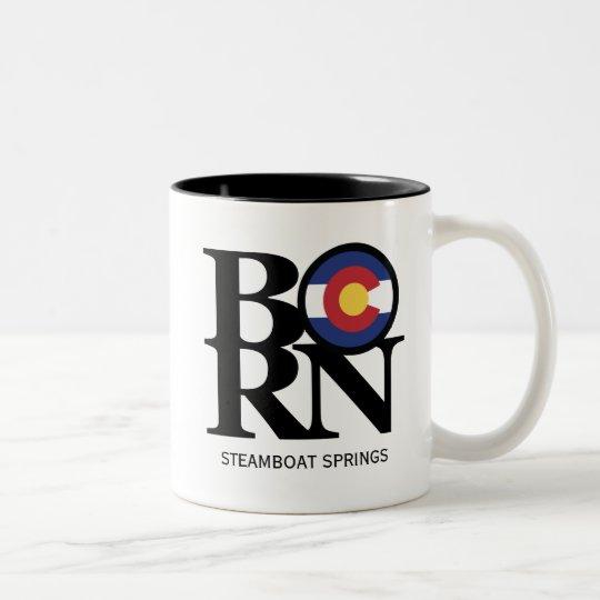 BORN Steamboat Springs Colorado Mug