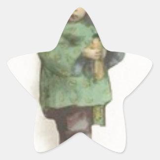 Born the command star sticker