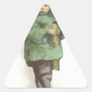 Born the command triangle sticker