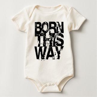 BORN THIS WAY BABY BODYSUIT