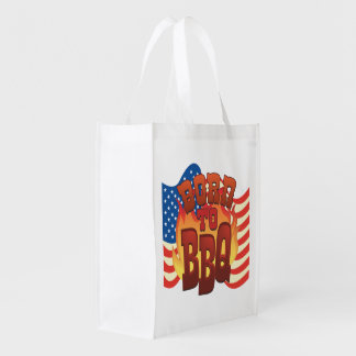 Born To BBQ Market Totes