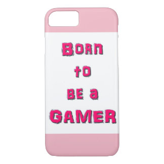 Born To Be A Gamer - Apple iPhone 8/7 Phone Case