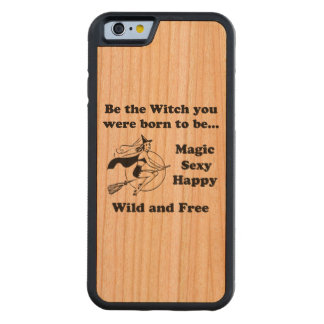 Born To Be A Witch Cherry iPhone 6 Bumper