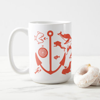 Born to be by the Sea Mug