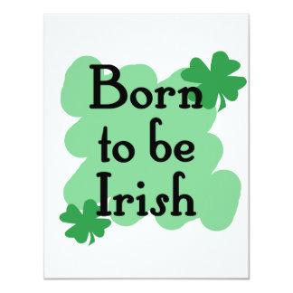 Born to be Irish Invitation