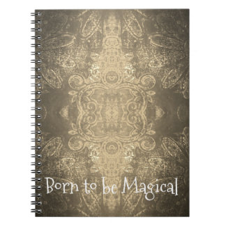 Born to be Magical Notebook (80 Pages B&W)