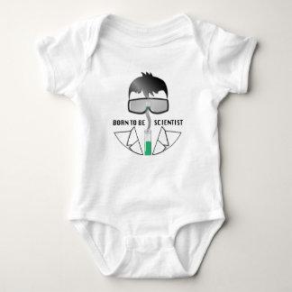 Born To Be Scientist Baby Bodysuit