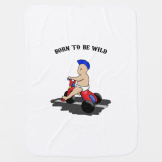 Born to be wild baby blanket