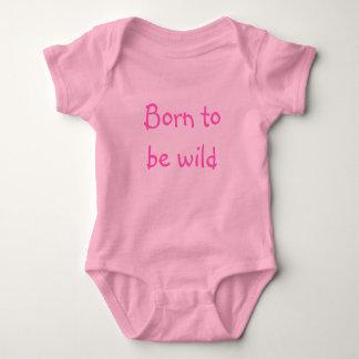 Born to be wild babygrow baby bodysuit