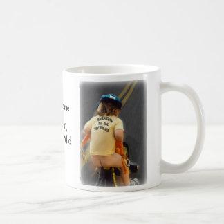 born to be wild basic white mug