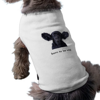born to be wild dog tshirt