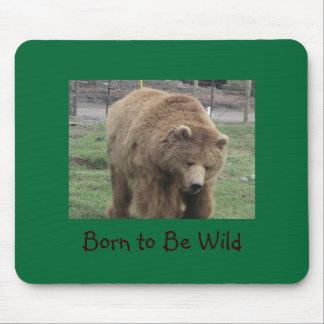 Born to Be Wild Mousepad
