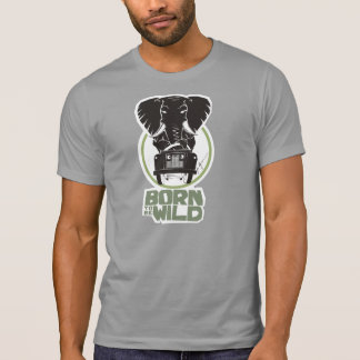 Born (to be) Wild Solemn Elephant T-Shirt