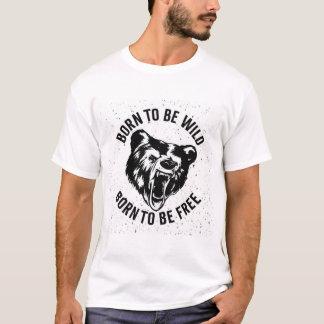 Born To Be Wild T-shirt Men Shirt