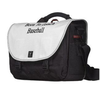 Born To Coach Baseball Commuter Bags