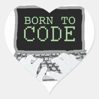Born to Code Sticker
