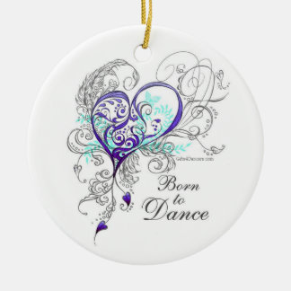 Born to Dance 2-Sided Ornament