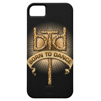 Born To Dance (Leopard) iPhone 5 case