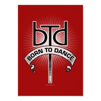 Born To Dance Party Invitation