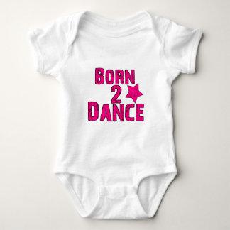 Born to Dance Pink Tshirts