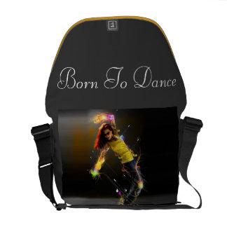 """Born To Dance"" Stylish Bag Courier Bag"