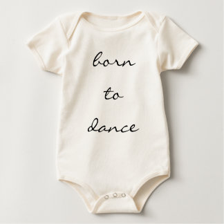 born to dance rompers