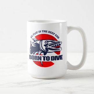 Born to Dive (Barracuda) Coffee Mug