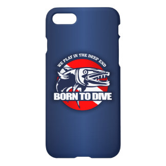Born to Dive (Barracuda) iPhone 8/7 Case