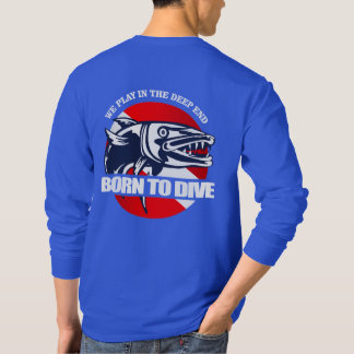 Born to Dive (Barracuda) T-Shirt