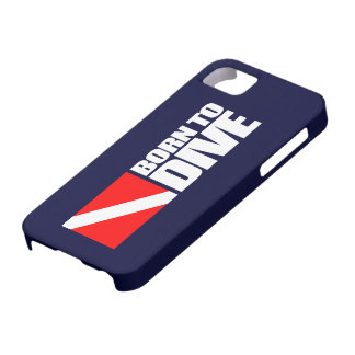 Born To Dive Case For The iPhone 5