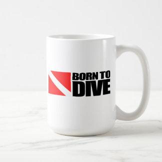 Born To Dive Coffee Mug