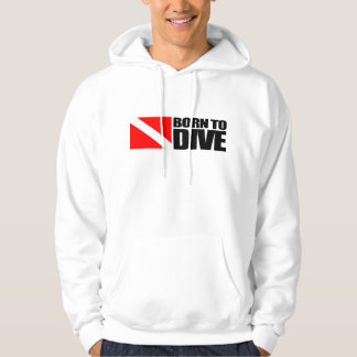 Born To Dive Hoodie